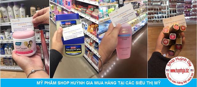 hàng mỹ phẩm xách tay từ Mỹ www.huynhgia.biz