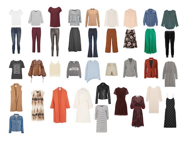 Капсульный гардероб на осень. Fall capsule wardrobe