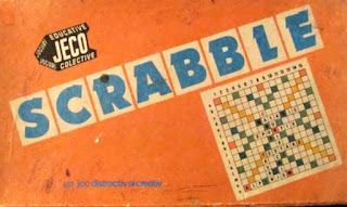 Joc de Scrabble manufacturat sub egida JECO CENTROCOOP si comercializat de RECOOP Bucuresti in anii 1984-89.