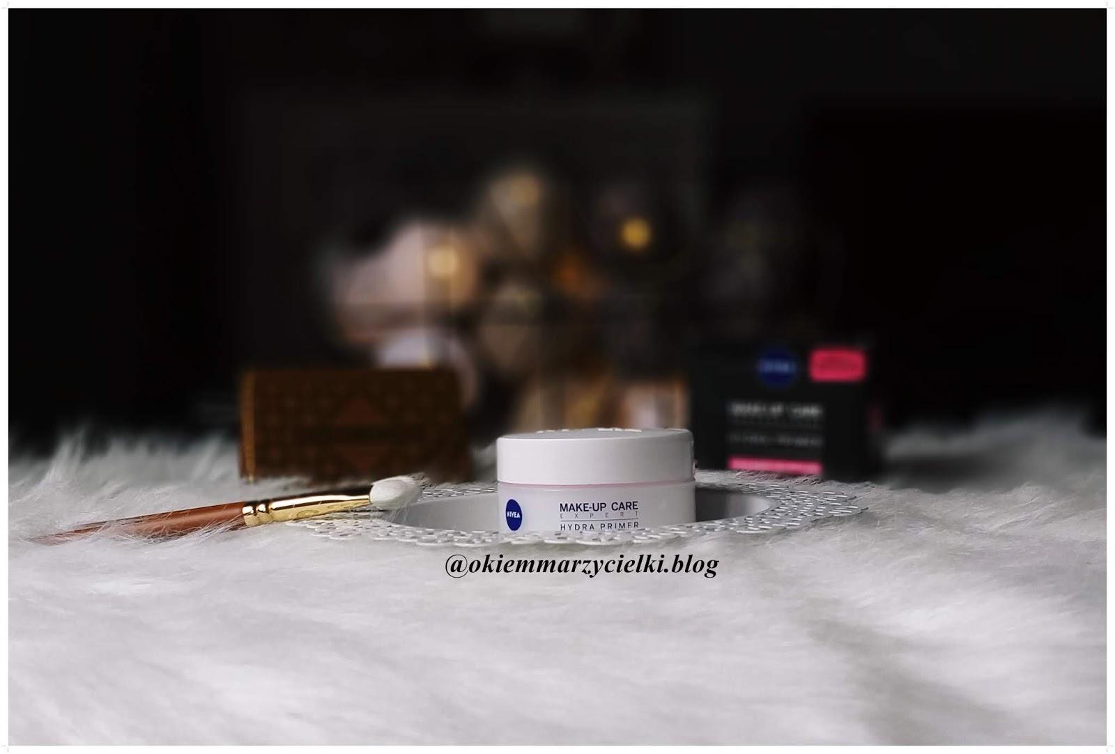 Krem-baza pod makijaż|Make-Up Care Professional Hydra Primer, Nivea-recenzja #83