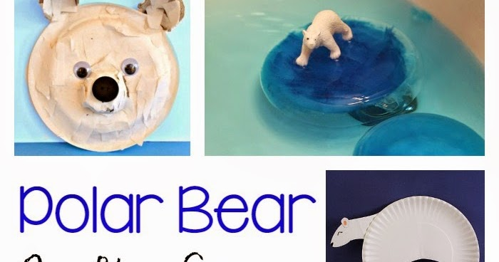 Polar Bear Crafts Activities For Kids Still Playing School