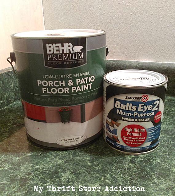DIY painted countertops