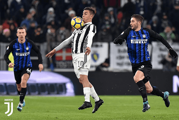 Paulo  Dybala Belum Pernah Membobol Gawang Inter Milan di Serie A