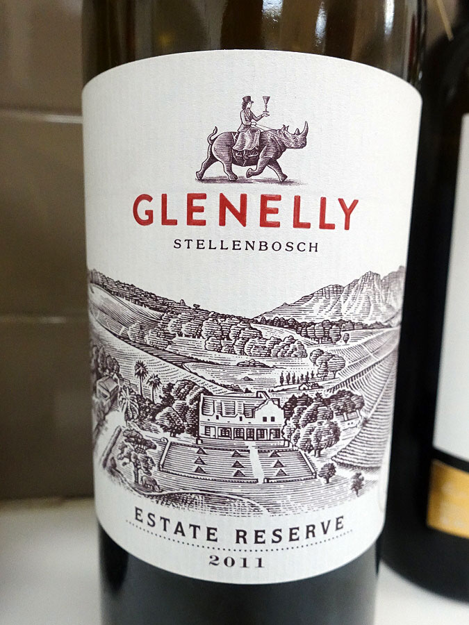 Glenelly Estate Reserve Red Blend 2011 (89 pts)
