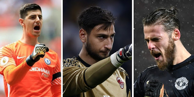 Dilema Real Madrid di antara De Gea, Courtois dan Donnarumma