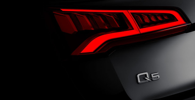 тизер нового Audi Q5