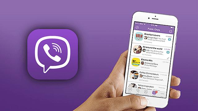 Viber bisa dipakai untuk mengirimkan pesan hingga 7000 karakter