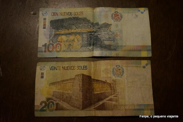 moeda peruana: soles