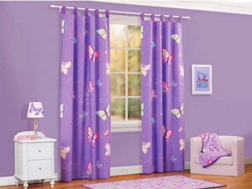 2013 Girls Room Curtains Design Ideas  Furniture Design