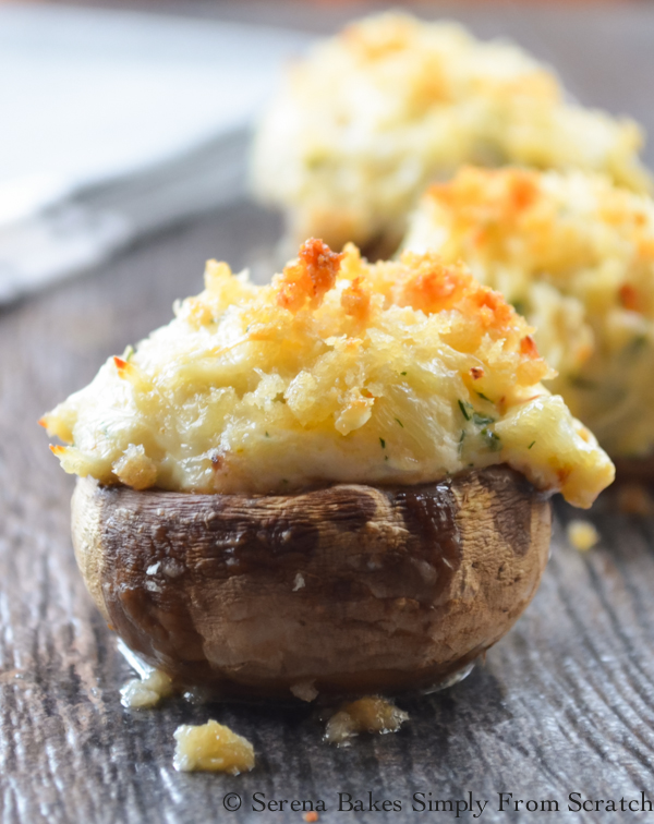 24 Tailgating Recipes You Can't Live Without! Crab Stuffed Mushrooms