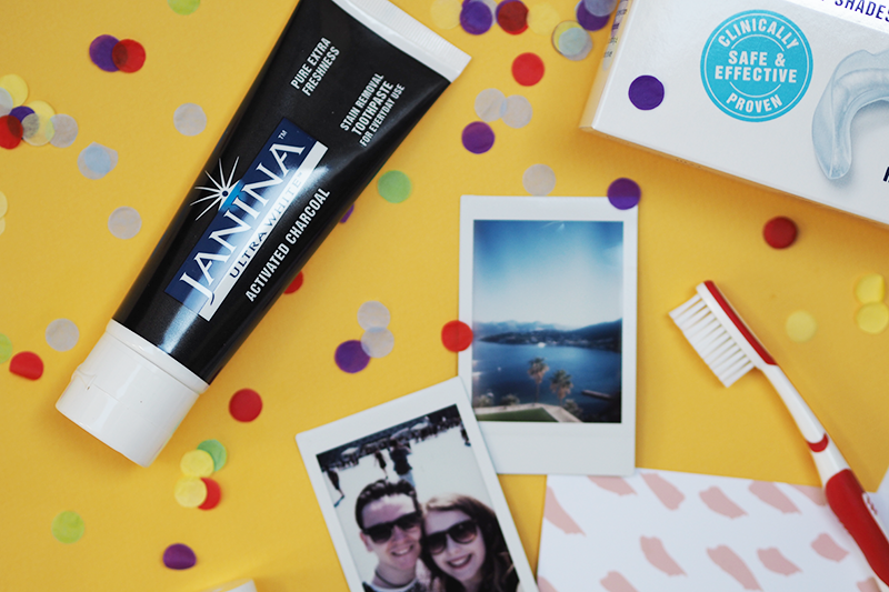 Janina Ultra White National Smile Month Review | Colours and Carousels - Scottish Lifestyle, Beauty and Fashion blog