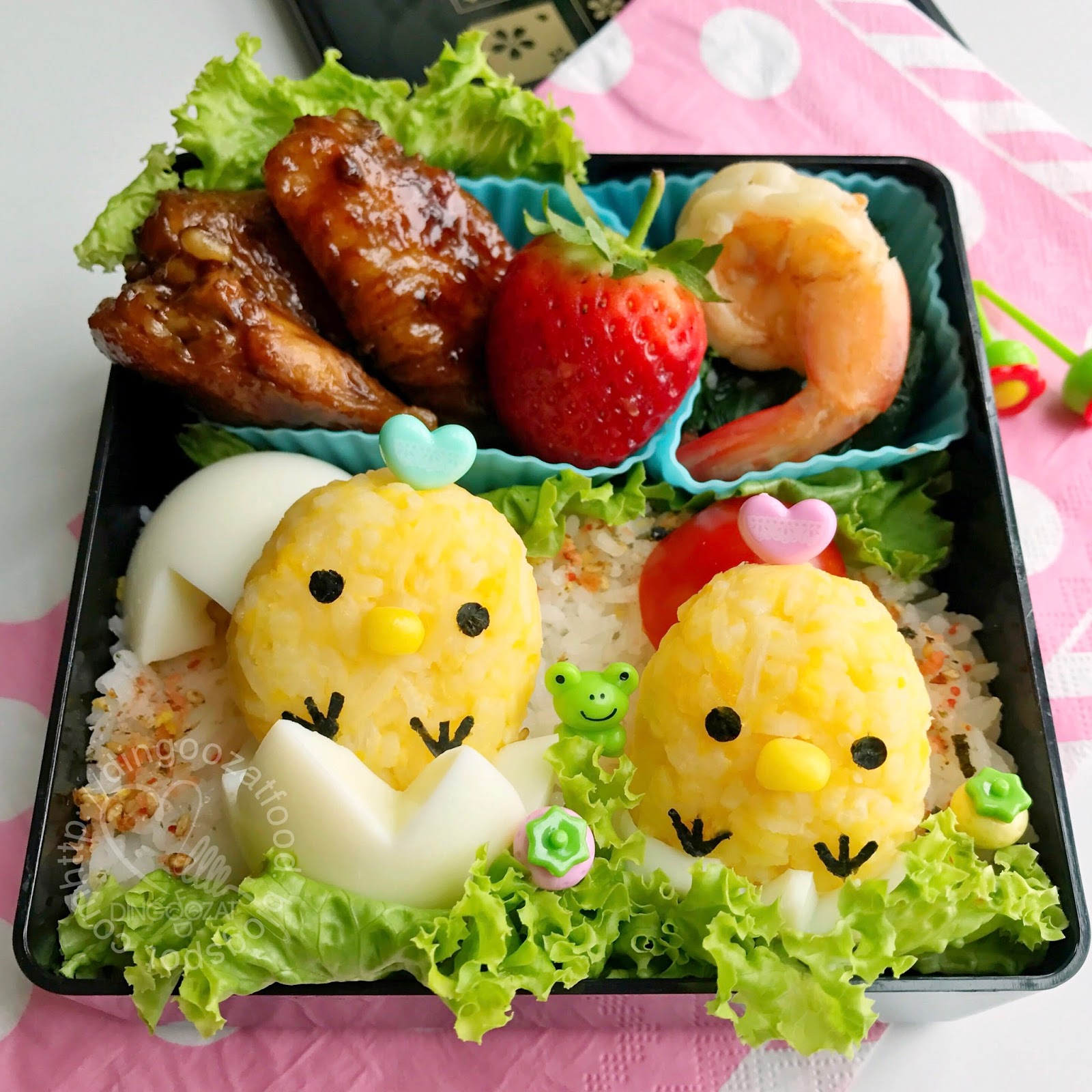 miki 39 s food archives little chicks onigiri lunch box bento. Black Bedroom Furniture Sets. Home Design Ideas