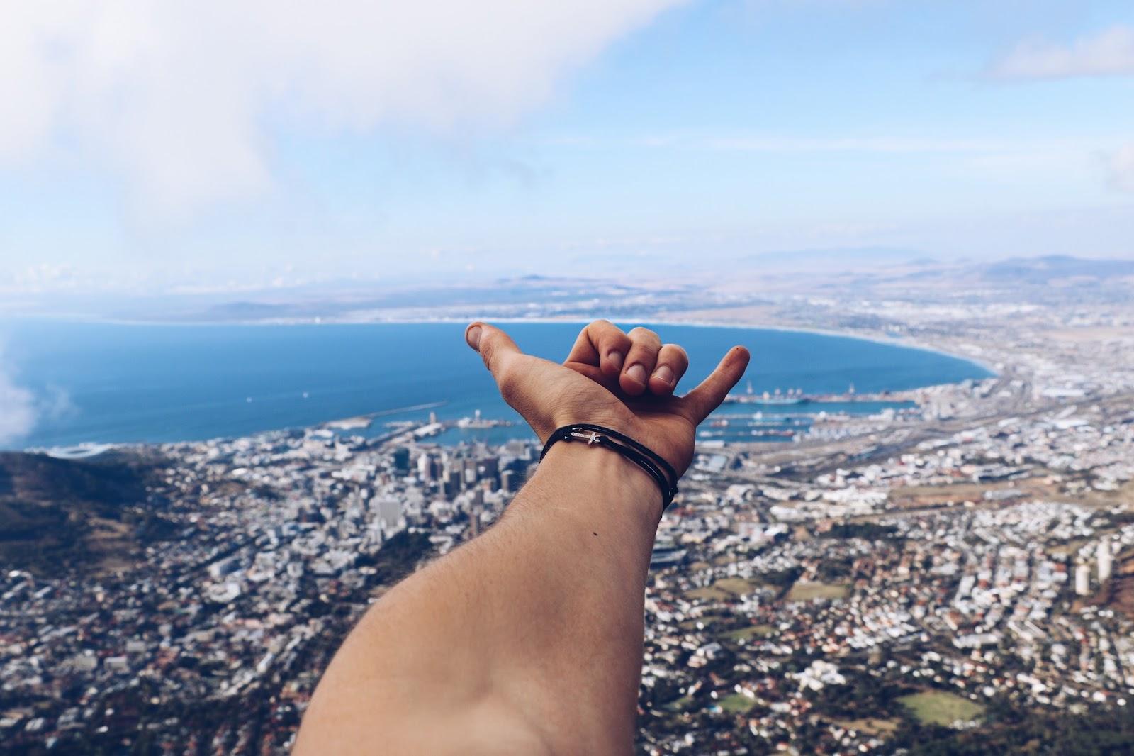 travel blogger table mountain, why climb table mountain, copper garden