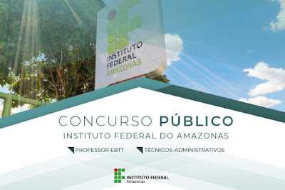 Concurso IFAM - Instituto Federal do Amazonas 2019