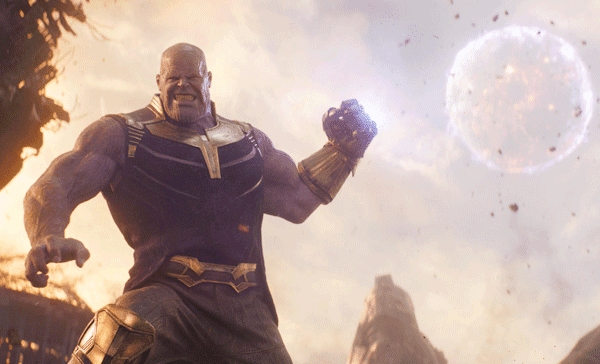 Thanos (voiced by Josh Brolin) in AVENGERS: INFINITY WAR (2018)