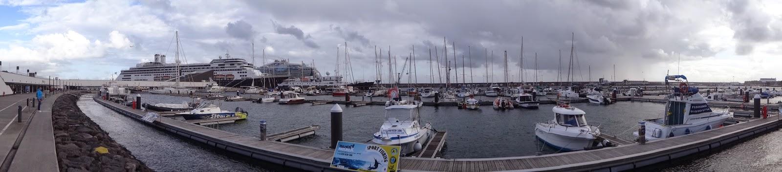 Capital de Isla de Sao Miguel en Las Azores