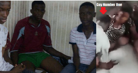 Following Yesterday's viral video that showed four young Ghanaian boys raping a young girl that sparked outrage on social media, the police have swung into action.