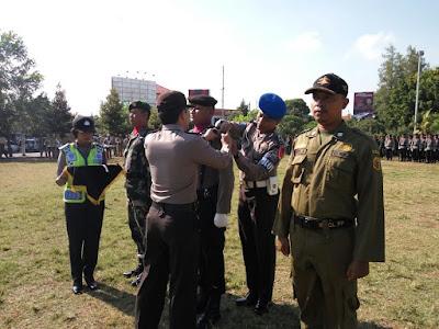 Polres Pati Gelar Pasukan Ops Mantap Praja Candi 2016