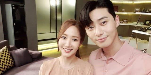 A Park Min Young se le pregunta si hay alguna posibilidad de que ella se convierta en una verdadera novia de Park Seo Joon