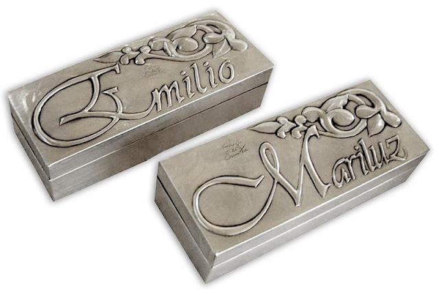 Cajas para Emilio y Mariluz