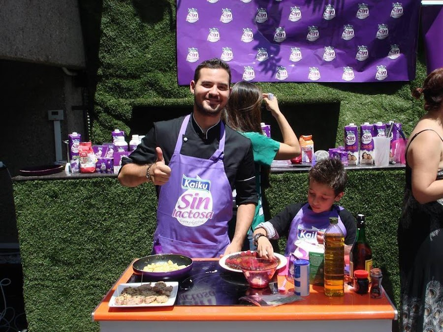 Chef Orielo. Show cooking sin lactosa SalAIA Madrid