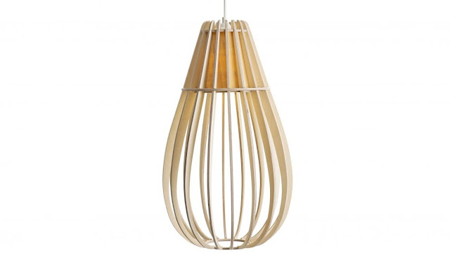 Wood & Bamboo Pendant Lights 6