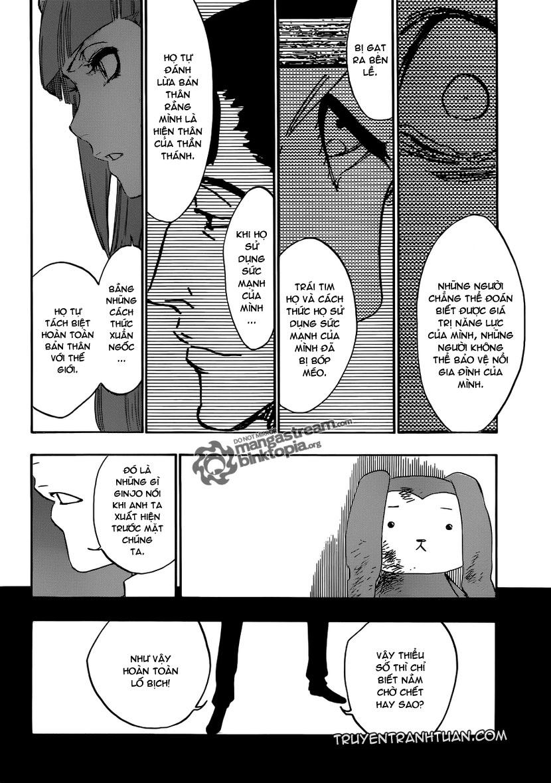 Bleach chapter 471 trang 12