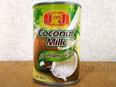 Coconut Milk for crab recipe