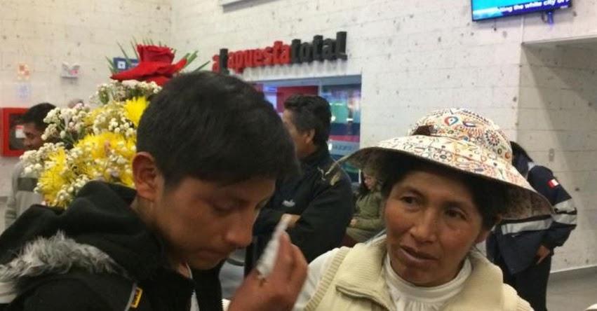 Llegaron a Arequipa los escolares que estuvieron varados en Bolivia