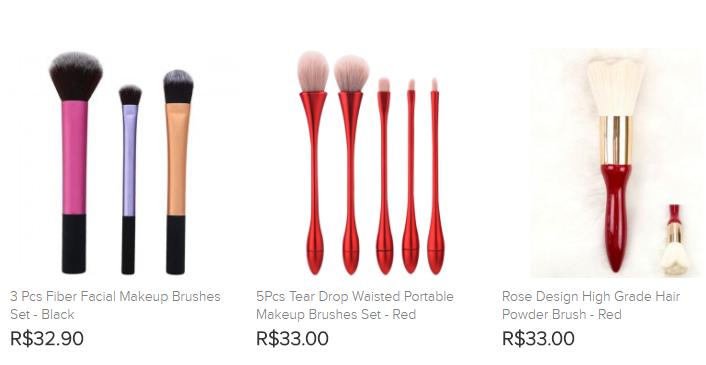 Compre Pincéis de Maquiagem com Preço Acessível