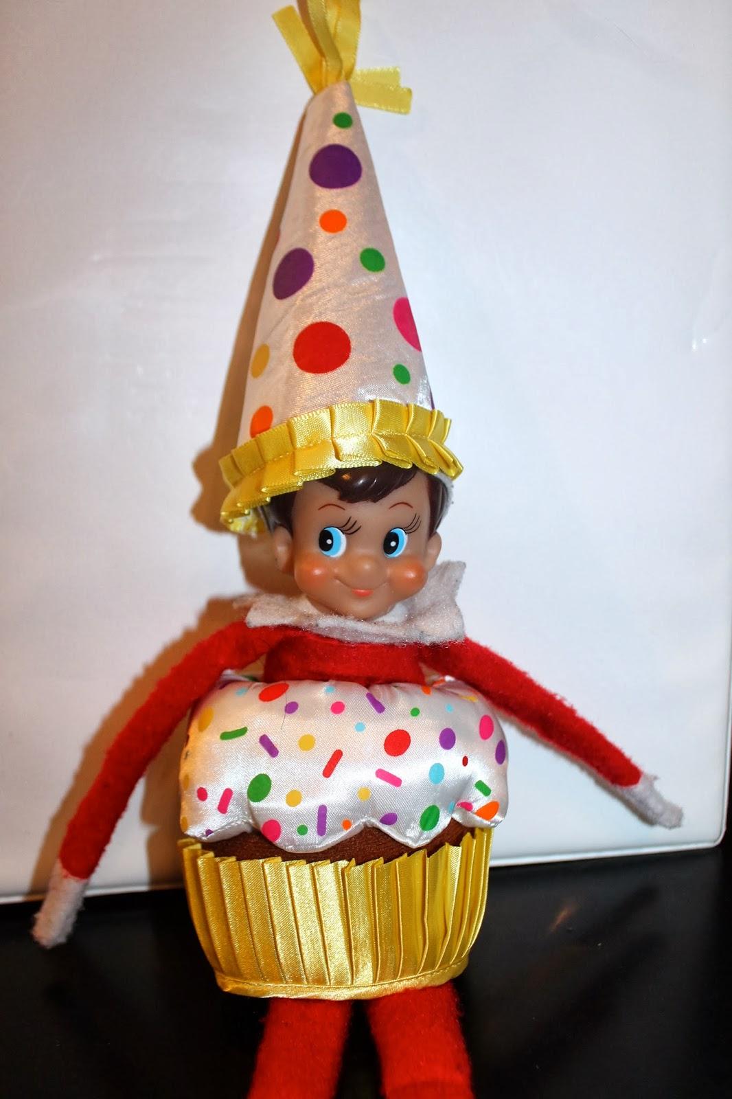 A New Dawnn: The Elf On The Shelf A Birthday Tradition