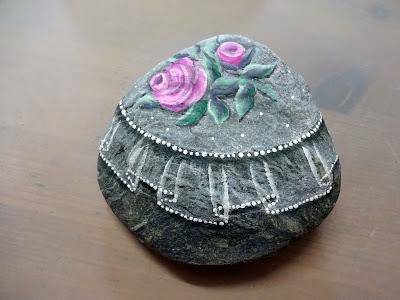 curso como pintar piedras a mano