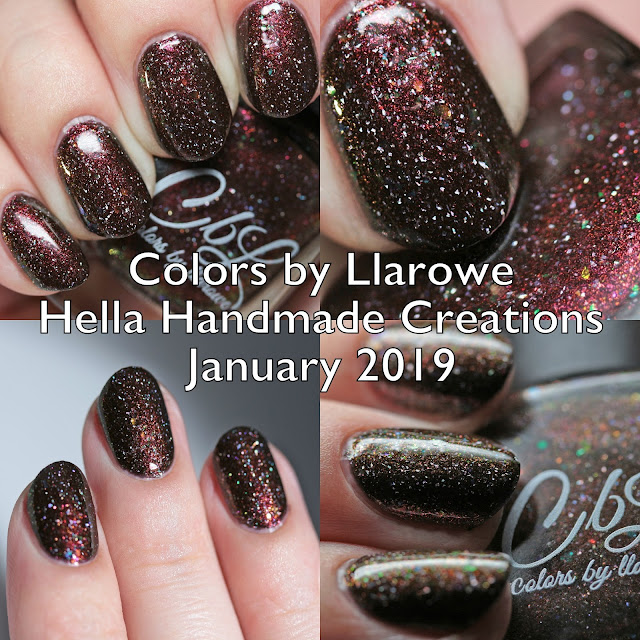 Colors by Llarowe Hella Handmade Creations January 2019