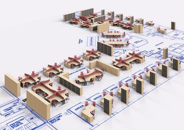 100+ ideas best office layout design on vouum