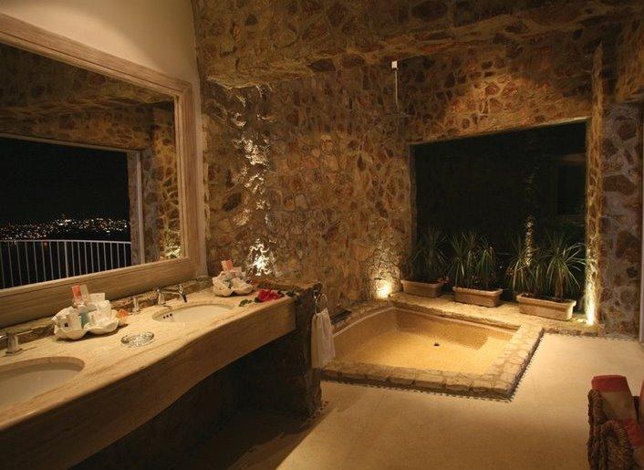 Boiserie c arredare un bagno come una spa - Bagno turco in muratura ...