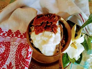 Assamese style flatten rice breakfast