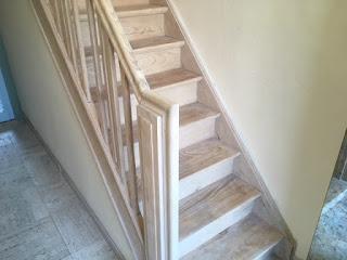 Renovatie van trap