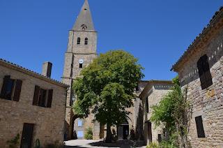 Puycelsi. L'església de Sainte-Corneille