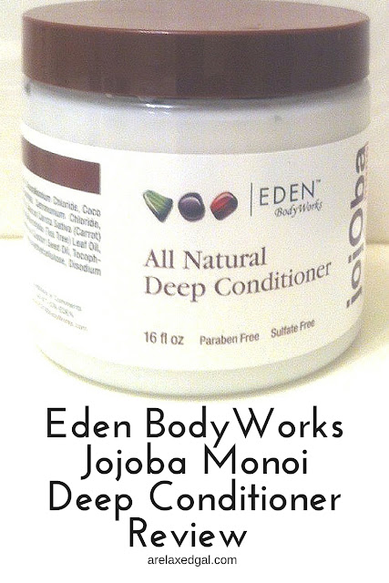 Eden BodyWorks Jojoba Monoi Deep Conditioner is my top pick for a deep conditioner. I haven't found one that works better. See my review to get the full story on why I like this deep conditioner so much. |  arelaxedgal.com