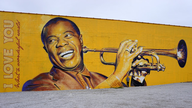 The Great Louis Armstrong Mural in Lexington, KY