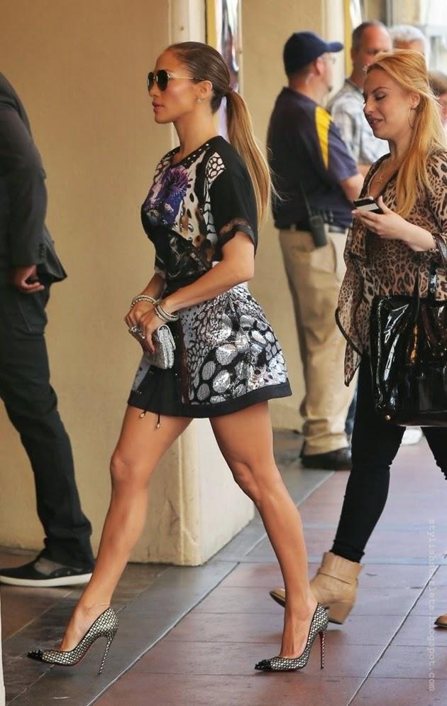 Street Style Jennifer Lopez Stylish Starlets