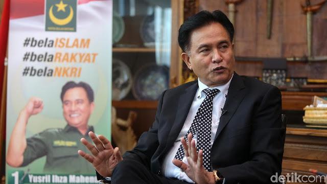 Ternyata Yusril Pernah Diundang Jokowi Bahas Kasus Habib Rizieq, Apa Isinya?