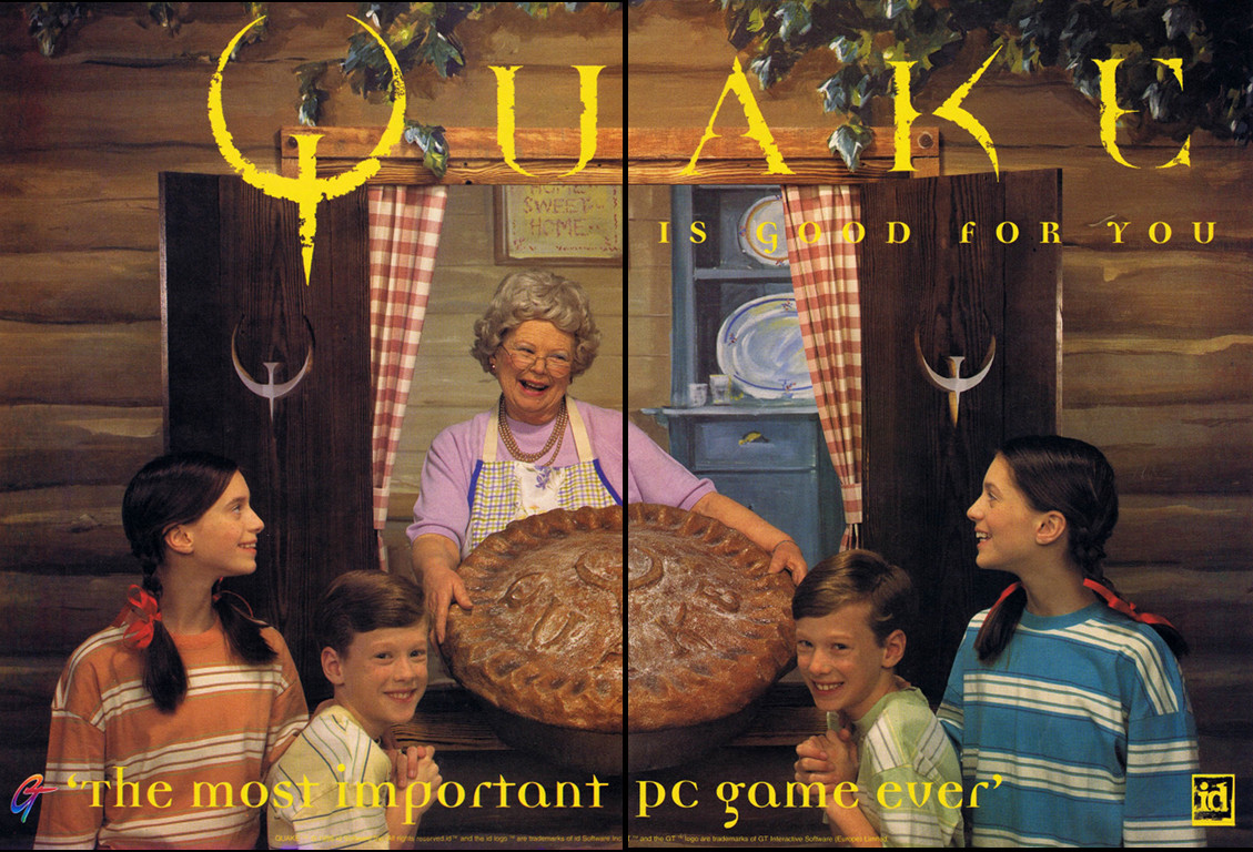 Quake is good for you