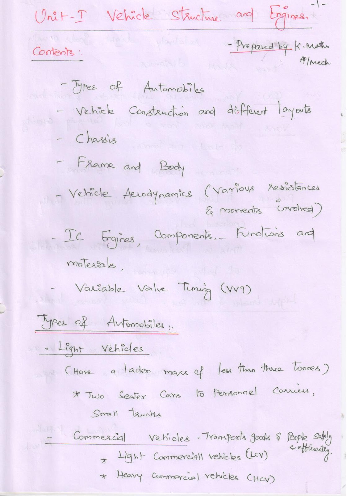 Pdf notes mechanical lecture engineering