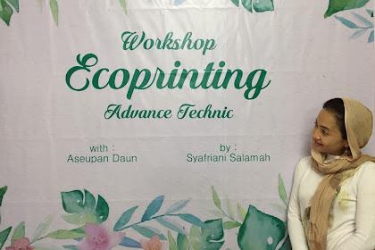 Workshop Ecoprinting