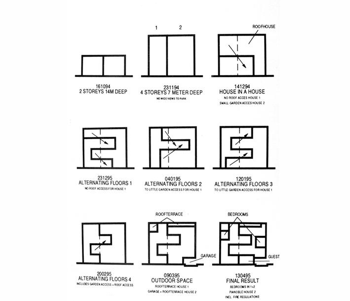 Double house mvrdv plans Architecture Pinterest Double house - agenda layout examples