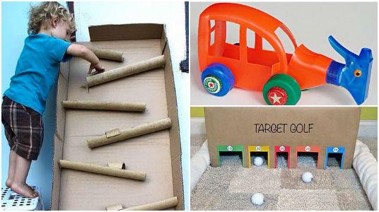 Creatividad Y Reciclaje Al Poder Infancia Juegos Educacion