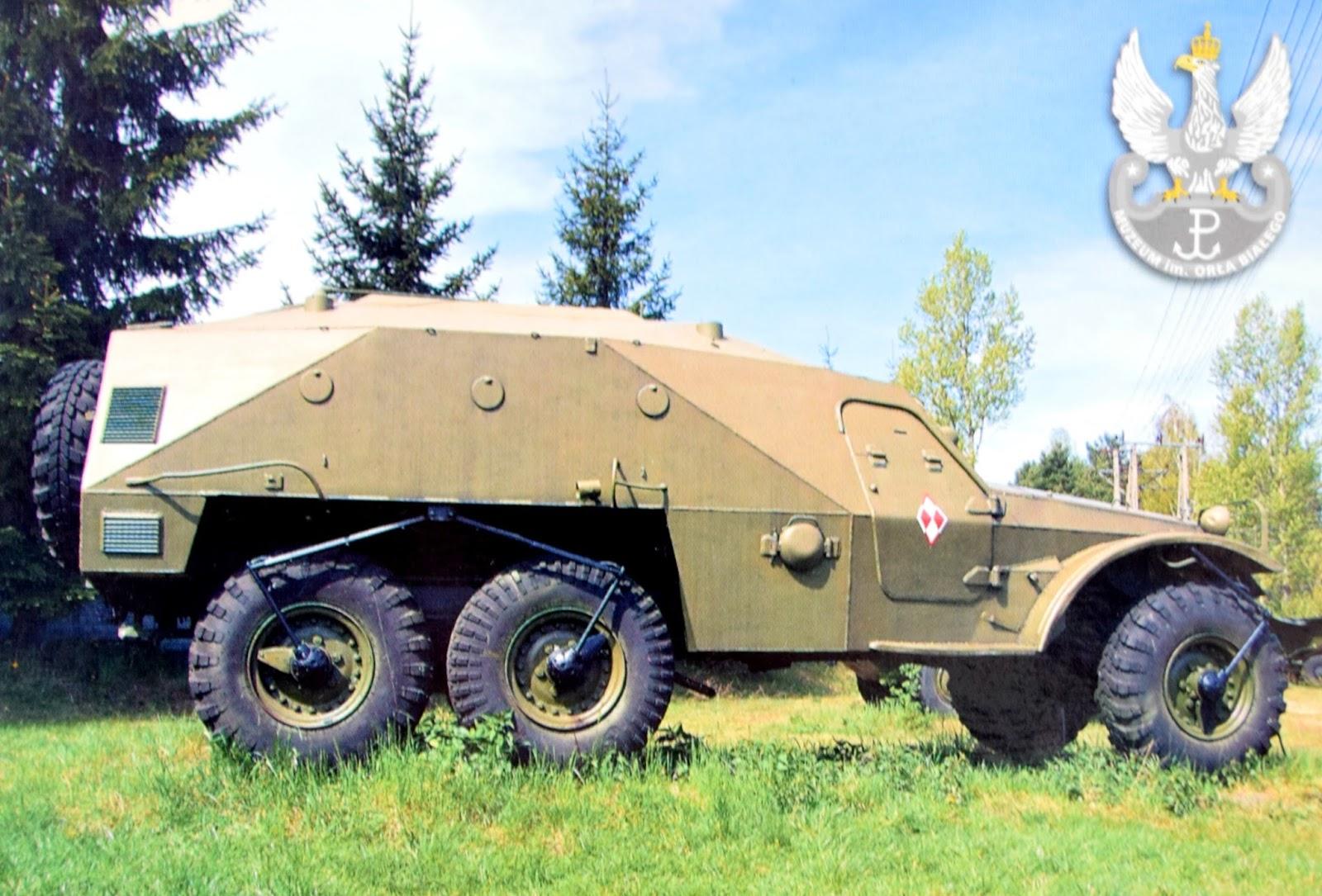 Kołowy Transporter Opancerzony BTR-152-K