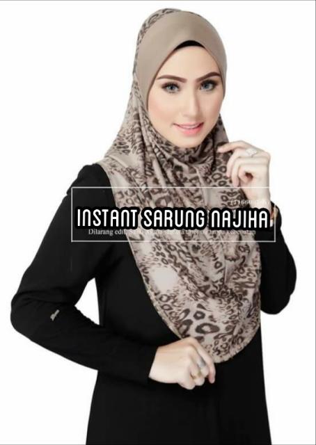 Shopping Murah 86: E022- Instant Sarung Najiha
