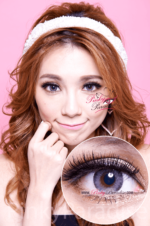 Mi Cloud Grey Toric Circle Lenses (Colored Contacts)
